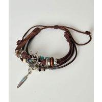 Mahon Leather Bracelet.