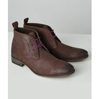 Vintage Leather Lace Up Boots