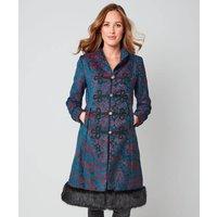 Elegant Jacquard Coat