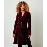 Jacquard Velvet Coat