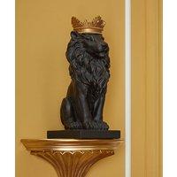 Majestic Black Lion.