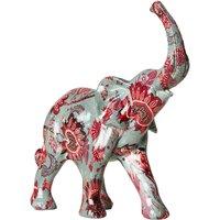 Floral Print Elephant.