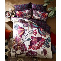 Floral Elephant Reverse Duvet Cover Set at Joe Browns