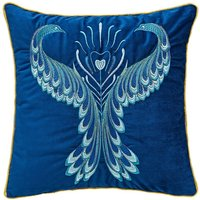 Magnificent Peacock Embroidered Cushion.
