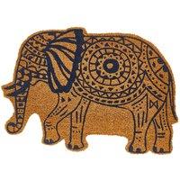 Elephant Shaped Doormat.