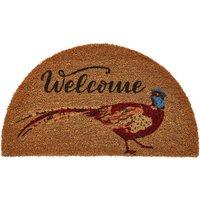 Wonderful Welcome Pheasant Doormat.