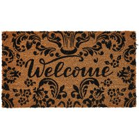 Brilliantly Baroque Doormat.