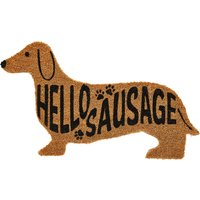 Super Sausage Dog Doormat.