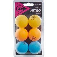 Nitro Glow 6 Ball Blister Tischtennis-Set