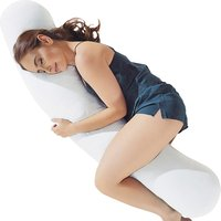 Kally Body Pillow-White