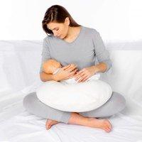 Kally Nursing & Baby Support Pillow-White