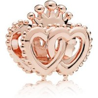 Pandora Rose 787670 Charm United Regal Hearts Gekrönte Herzen