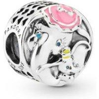 Pandora Disney 797850ENMX Charm Dumbo & Mrs. Jumbo Silber