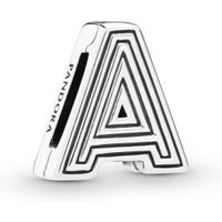 Pandora Reflexions 798197 Charm Clip Letter A Sterling-Silber