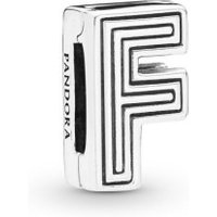 Pandora Reflexions 798202 Charm Clip Letter F Sterling-Silber