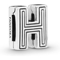 Pandora Reflexions 798204 Charm Clip Letter H Sterling-Silber
