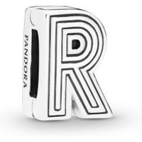 Pandora Reflexions 798214 Charm Clip Letter R Sterling-Silber