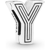 Pandora Reflexions 798221 Charm Clip Letter Y Sterling-Silber