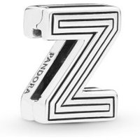 Pandora Reflexions 798222 Charm Clip Letter Z Sterling-Silber