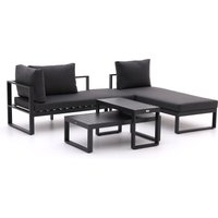 Forza Martone chaise longue loungeset 4-delig - Laagste prijsgarantie!