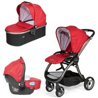 Tutti Bambini Arlo Charcoal 3in1 Travel System-Poppy - Comfort Gifts