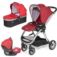 Tutti Bambini Arlo Chrome 3in1 Travel System-Poppy - Comfort Gifts