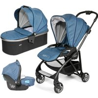 Tutti Bambini Koji Black 3in1 Travel System-Midnight Blue - Comfort Gifts