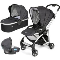 Tutti Bambini Koji Silver 3in1 Travel System-Liquorice - Comfort Gifts