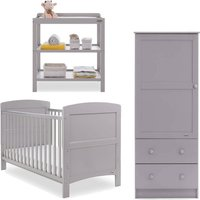 Obaby Grace 3 Piece Furniture Set-Warm Grey - Grey Gifts