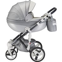 Mee-Go Milano Special Edition 3in1 Travel System-Silver Charm