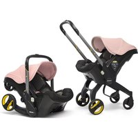 Doona Infant Car Seat Stroller-Blush Pink + FREE Doona Rain Cover Worth 29.99!