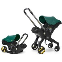 Doona Infant Car Seat Stroller-Racing Green + FREE Rain Cover to fit Doona Worth 24.99!