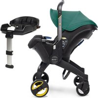 Doona Infant Car Seat Stroller With ISOFIX Base-Racing Green (New 2019)