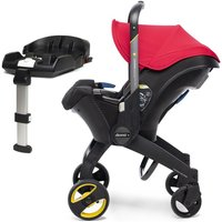 Doona Infant Car Seat Stroller With ISOFIX Base-Flame Red (New 2019)