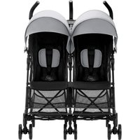 Britax Holiday Double Stroller-Steel Grey (New)