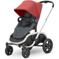 Quinny Hubb Silver Frame Shopping Stroller-Red/Graphite - Shopping Gifts