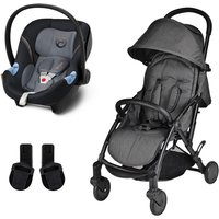 Unilove S Light 2in1 Travel System-Space Black with Aton M Carseat!
