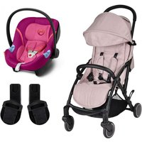 Unilove S Light 2in1 Travel System-Spring Pink with Aton M Carseat!