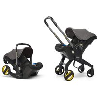 Doona Infant Car Seat Stroller-Urban Grey + FREE Doona Rain Cover Worth 29.99!