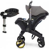 Doona Infant Car Seat Stroller With ISOFIX Base-Urban Grey (New 2019)