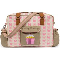 Pink Lining Heritage Yummy Mummy Changing Bag-Pink Butterflies - Butterflies Gifts