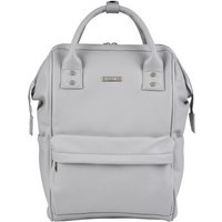 BabaBing Mani Backpack Changing Bag Faux Leather-Dove Grey - Backpack Gifts