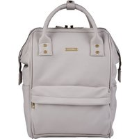 BabaBing Mani Backpack Changing Bag Faux Leather-Grey Blush (2020) - Backpack Gifts