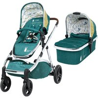 Cosatto Wow XL 3in1 Pushchair and FREE Dock I-Size Car Seat-Hop To It (New 2019)