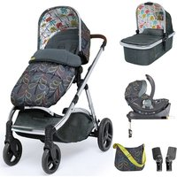 Cosatto Wow XL 3in1 Whole 9 Yards Travel System with i-Size Car Seat-Nordik