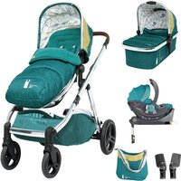 Cosatto Wow XL 3in1 Whole 9 Yards Travel System with i-Size Car Seat-Hop To It(New 2019)