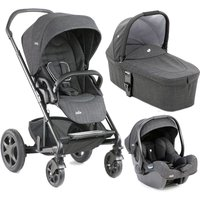 Joie Chrome DLX 3in1, i-Gemm Travel System-Pavement (New) - Chrome Gifts