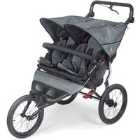 Out n About Nipper DOUBLE SPORT Stroller-Steel Grey - Sport Gifts