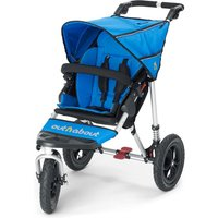 Out n About Nipper Single 360 V4 Stroller-Lagoon Blue + FREE Shopping Basket Worth 23.95! - Shopping Gifts