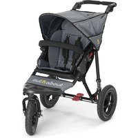 Out n About Nipper Single 360 V4 Stroller-Steel Grey + FREE Miniland Thermometer Set Worth £21.99! - Shopping Gifts